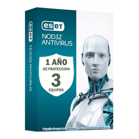 Eset Nod32 Antivirus V13 / Licencia Original 3 Pc 1 Año