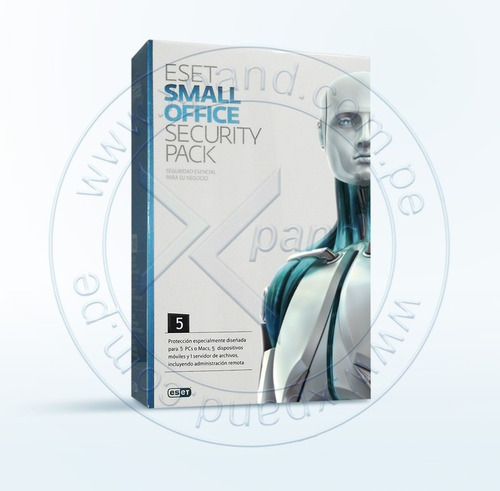 eset small office  para  5 pc.