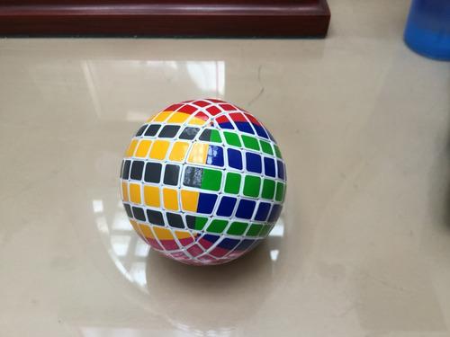 esfera 7x7 hecha a mano