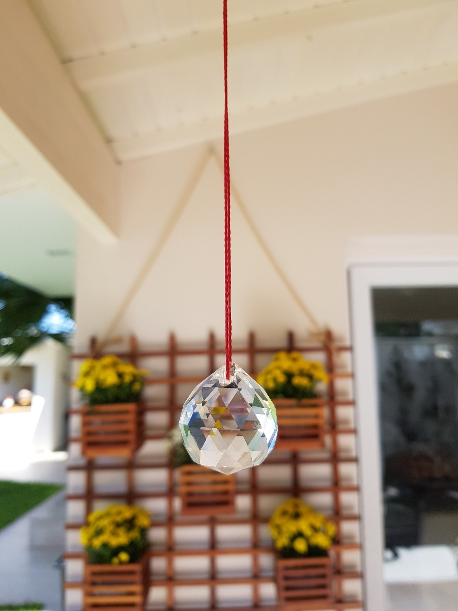 9c75f93c0fc esfera cristal facetada feng shui fluxo energia bola 50 mm. Carregando zoom.