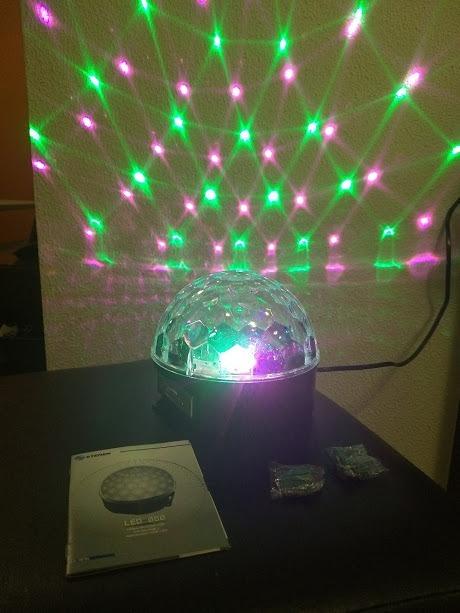 b4a084d8dae Esfera De Luces Led Con Bocinas Y Reproductor Usb Y Sd -   565.00 en ...