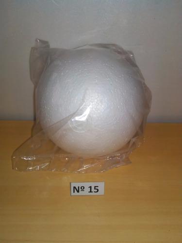 esfera de telgopor nº 15