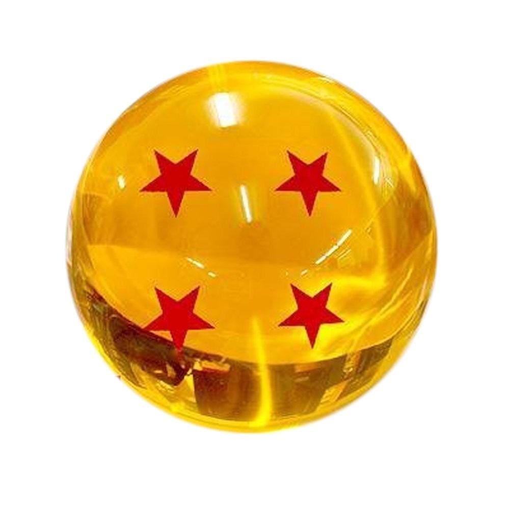 Esfera del dragon de 4 estrellas tama o real en - Dragon ball z 4 ...