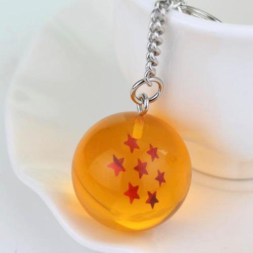 esfera del dragon llavero 7 estrella dragon ball goku vegeta