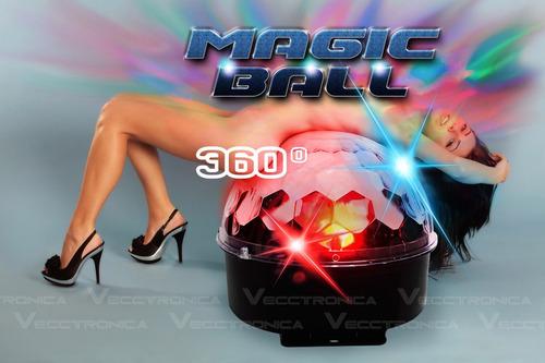 esfera disco color led audio rítmica alto brillo potente