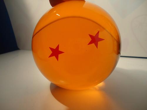 esfera do dragão 2 estrelas tamanho real 8cm-pronta entrega