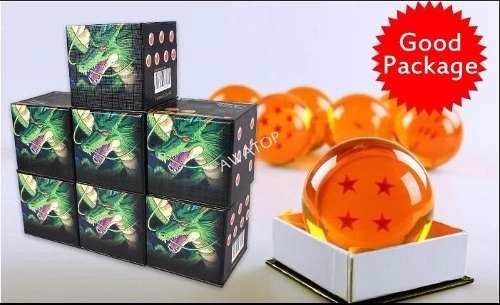 esfera do dragão 3 estrelas tamanho real 7,5cm sob encomenda