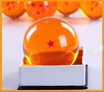 esfera do dragão 6 estrelas tamanho real 7,5cm sob encomenda