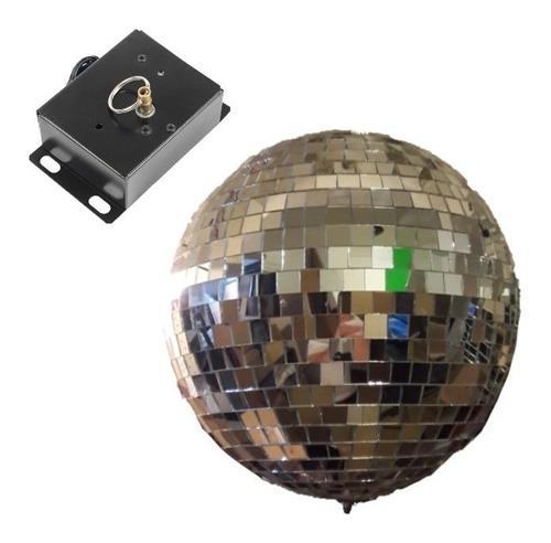 esfera espejada bola boliche 40 + motor el mejor precio