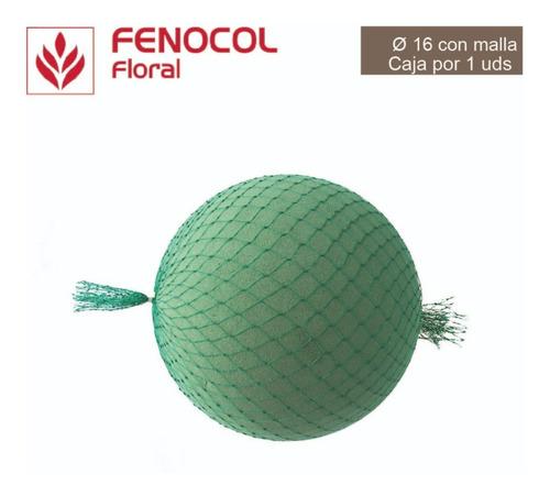 esfera floral #16 con malla -  caja por 1 unidad
