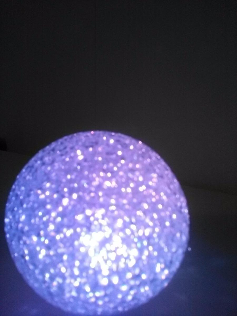 Esfera Luz Led Cambia Color 10 Cm De Dimetro 9900 en Mercado
