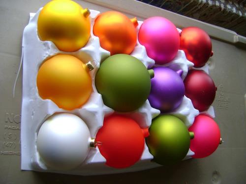 esfera navideña mate