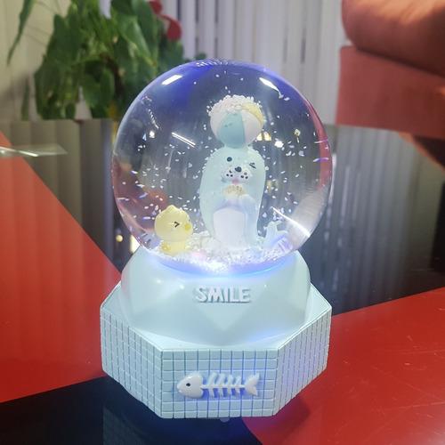 esfera nieve musical unicornio novios ada torre eiffel