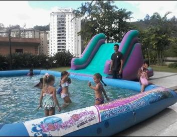 esferamania alquiler tobogan de piscina