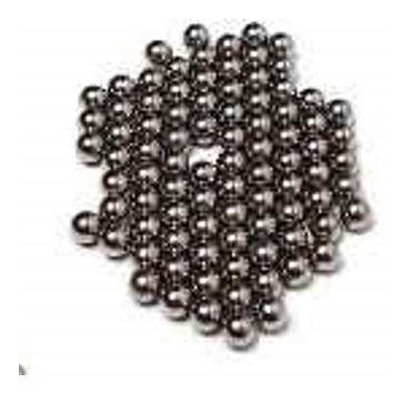 esferas bolinhas  de aço de catraca  3/16  (72 unidades).