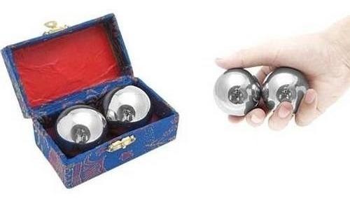 esferas chinas importadas para masaje en fino acero