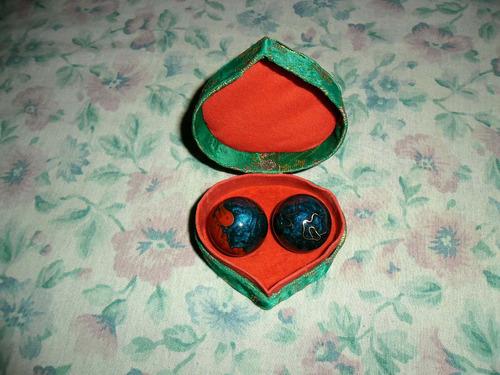esferas chinas originales con sonidos relajante y meditacion