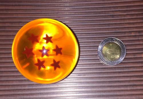 esferas de dragón 7 piezas 4.5cm+llavero 4 estrellas bandai
