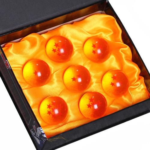 esferas de dragon ball z 4.2 cm estuche bandai goku