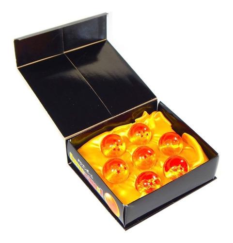 esferas de dragon ball z 4cm estuche exhibidor envio gratis