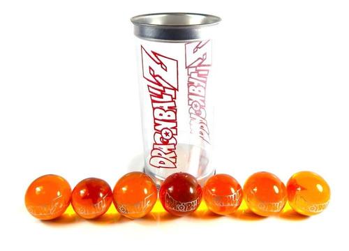 esferas de dragon ball z gt super 4cm shen long goku naranja