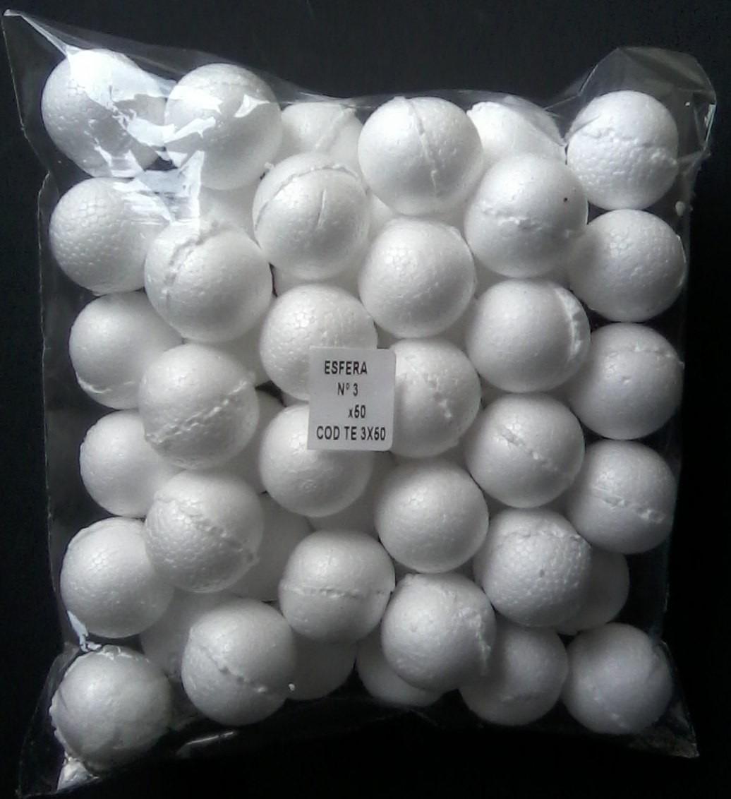 Bola de icopor #4 esferas de espuma para artes y manualidades