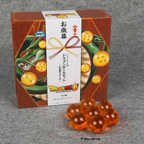 esferas del dragon  2.5 cm aniversario estuche imantado