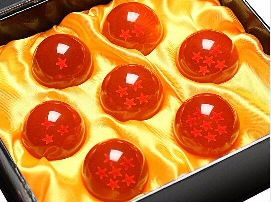 esferas del dragn piezas cm caja estuche
