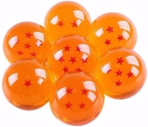 esferas del dragón 7 piezas 4.2 cm + caja + estuche