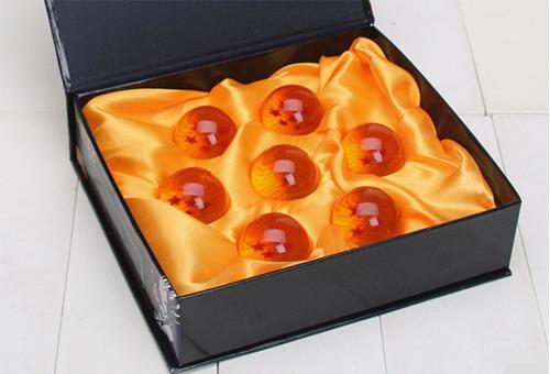 esferas del dragón 7 piezas mini 3.5cm con exhibidor