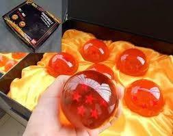 esferas del dragon, dragon ball z  7,5 tamano real  / sapra