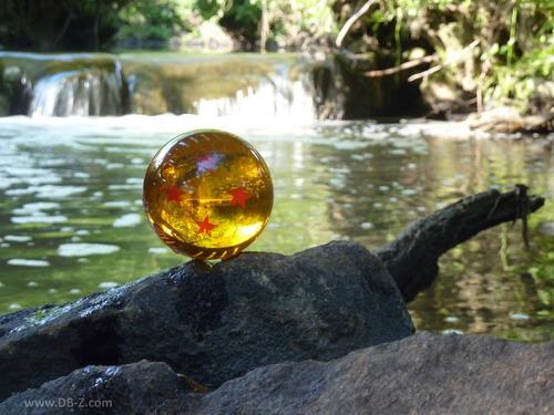 esferas del dragon goku tamaño real 7.8cm bandai originales