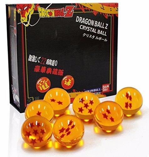 esferas del dragón set de 7+caja 4.2 cm bandai envío gratis