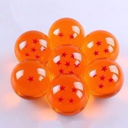 esferas del dragon set de 7 tamaño real con caja coleccion