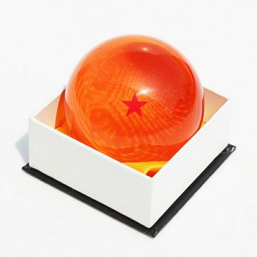 esferas do dragão! dragon balls todas estrelas! 7cm real!