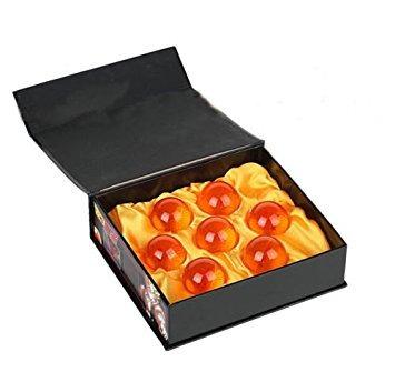 esferas dragon ball - caja con 7 esferas 4cm (envío gratis)