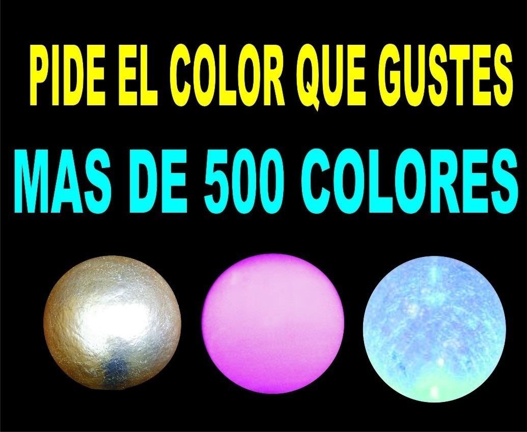 Esferas lampara de fibra de vidrio jardin interior bar - Lamparas de cristal de colores ...