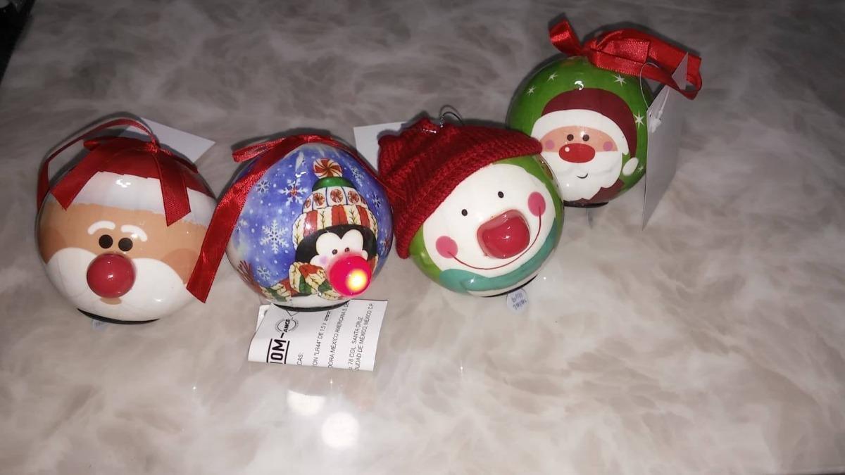Esferas Navideñas Con Luz Led Decorativas De 75 Cm