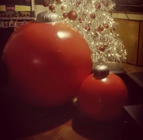 esferas navideñas inflables