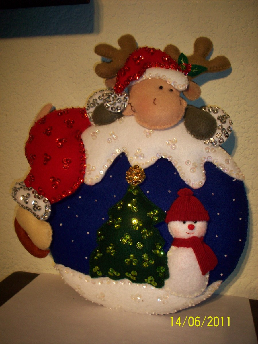 Esferas navide as manualidades peluches etc hechos a mano - Manualidades a mano ...