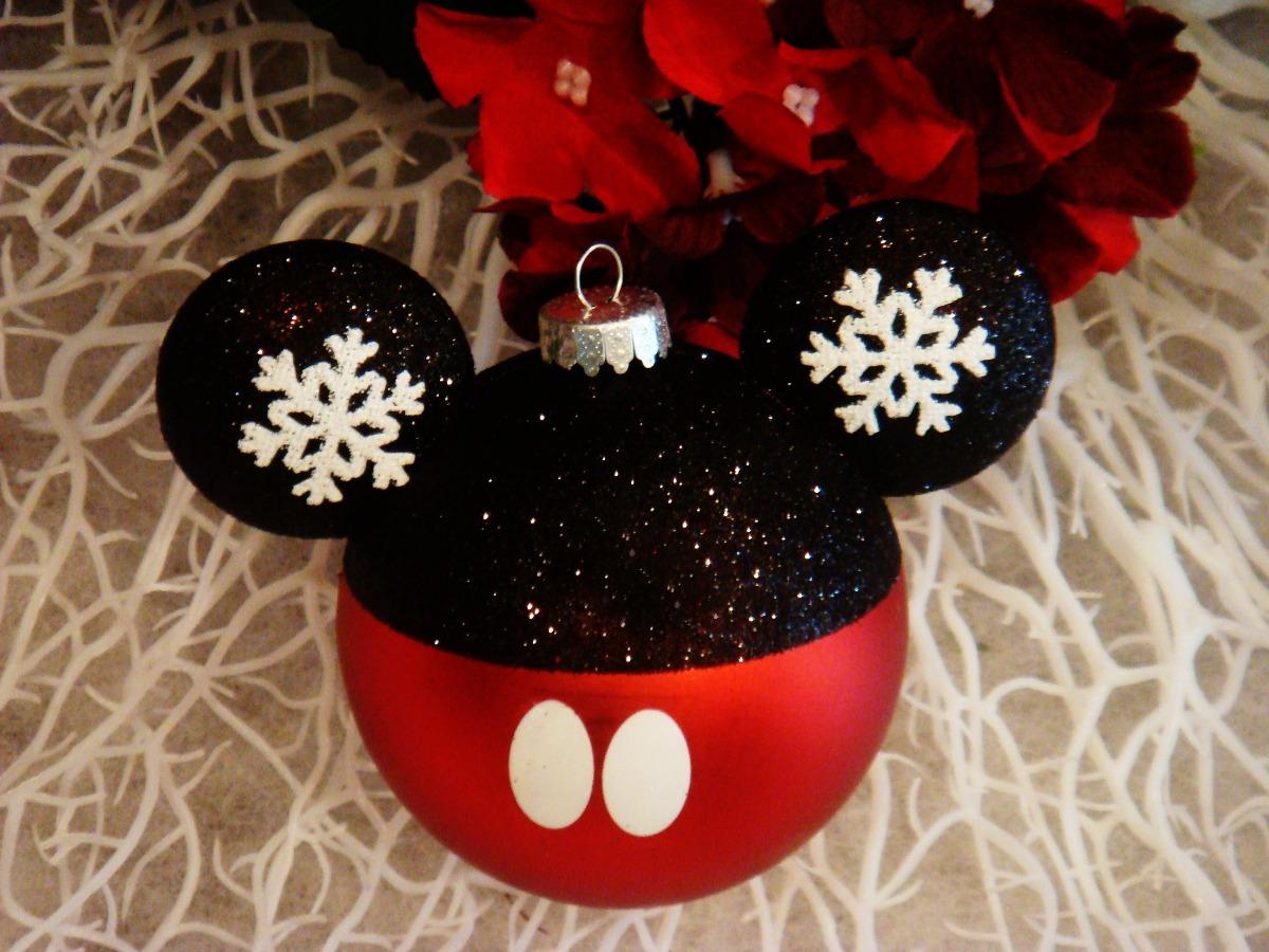 Esferas navide as mickey mouse disney navidad decoraci n for Adornos navidenos mickey mouse