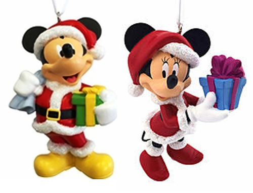 Mickey Mouse Decoracion Navidad ~ Esferas Navide?as Minnie Mickey Mouse Adornos Decoraci?n  $ 399 00