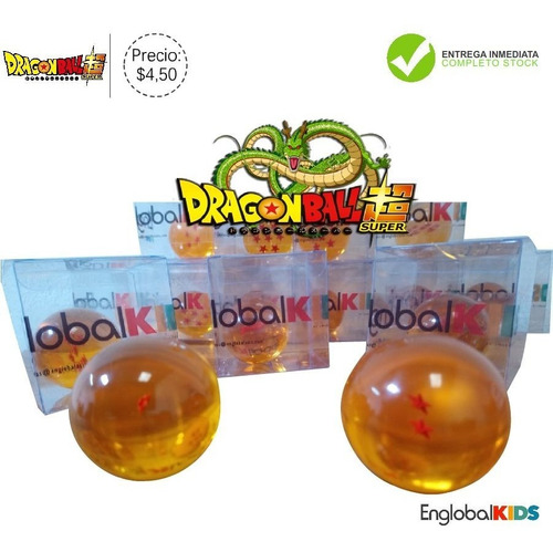 esferas originales dragon ball - individuales - goku vegeta