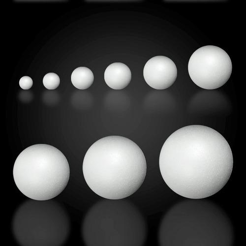 esferas telgopor espumaplast 2 cm hasta 36 cm