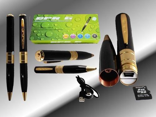 esfero bolígrafo lapicero con cámara espía graba hd fotos