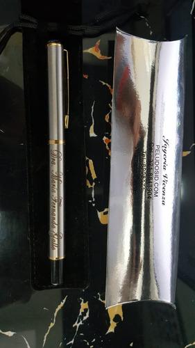 esfero personalizado en acero lapicero acero marcado gratis