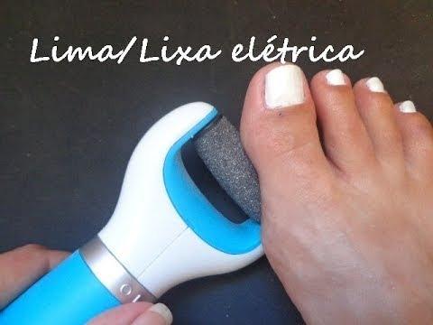 esfoliador lixador elétrico,calos pés a pilha e cabo usb