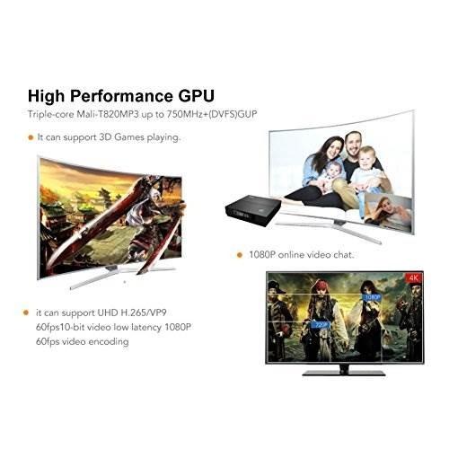 Eshowee Tx92 Android 7 1 Tv Box Amlogic S912 Cpu Octa-core D