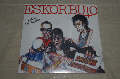 eskorbuto impuesto revolucionario vinilo rock activity
