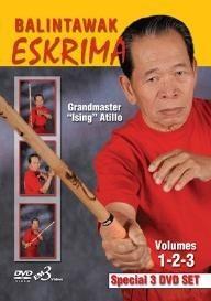 eskrima atillo balintawak ((3 dvd set)